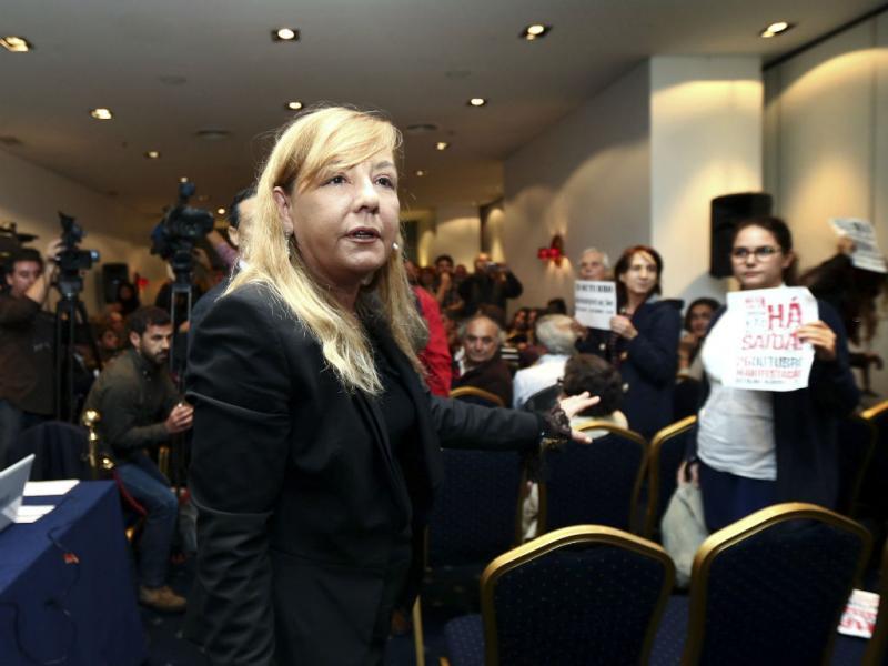 Ministra da Justiça vaiada em Gaia durante discurso (Lusa)