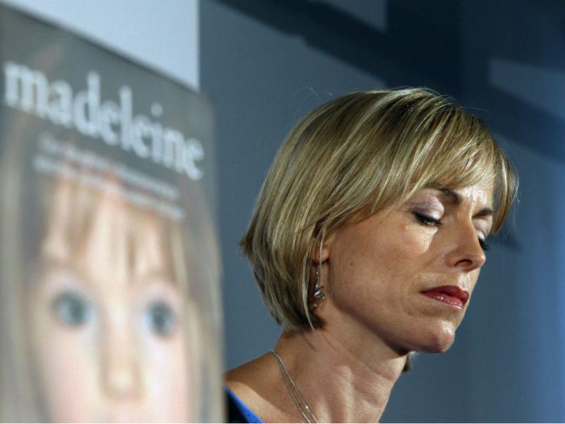 Kate McCann durante o lançamento do seu livro, a 12 de maio de 2011. (REUTERS/Chris Helgren)