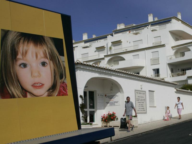 Vista do empreendimento de onde desapareceu Maddie, a 03 de maio de 2007 . (REUTERS/Hugo Correia)
