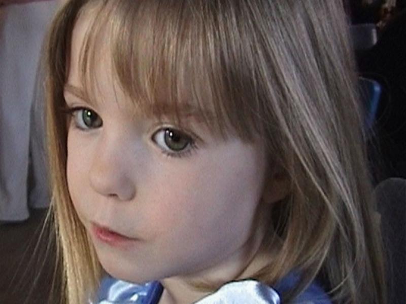 Maddie, numa imagem retirada de um vídeo de família. (REUTERS/Handout)