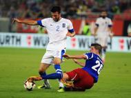 Grécia vs Liechtenstein (EPA)