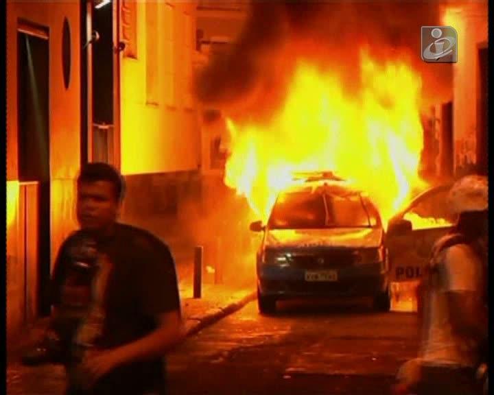 Violência volta a marcar protestos no Brasil