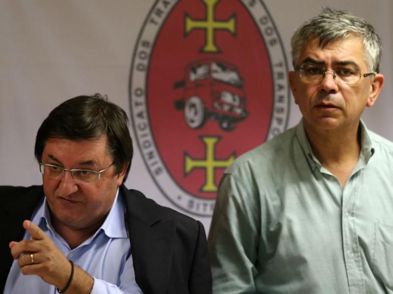 Sérgio Monte e José Manuel Oliveira (Lusa)