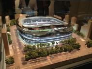 Novo Santiago Bernabéu: projeto 1