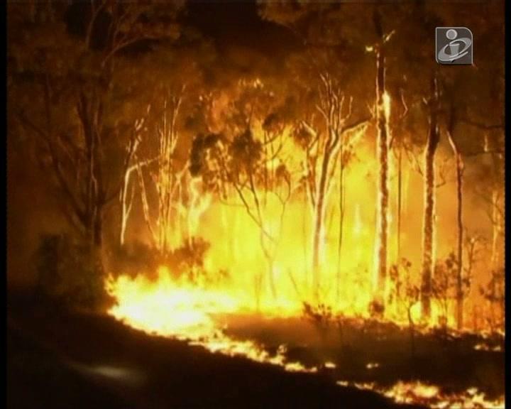 Mais de 100 incêndios consomem Nova Gales do Sul