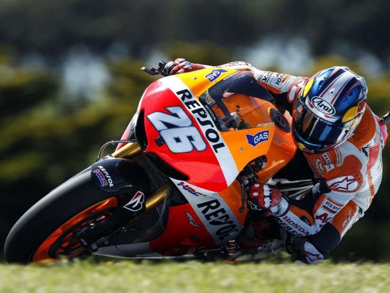 Treinos para o Grande Prémio da Austrália em Moto GP (Reuters)