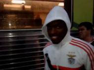 Benfica viajou de comboio para Cinfães