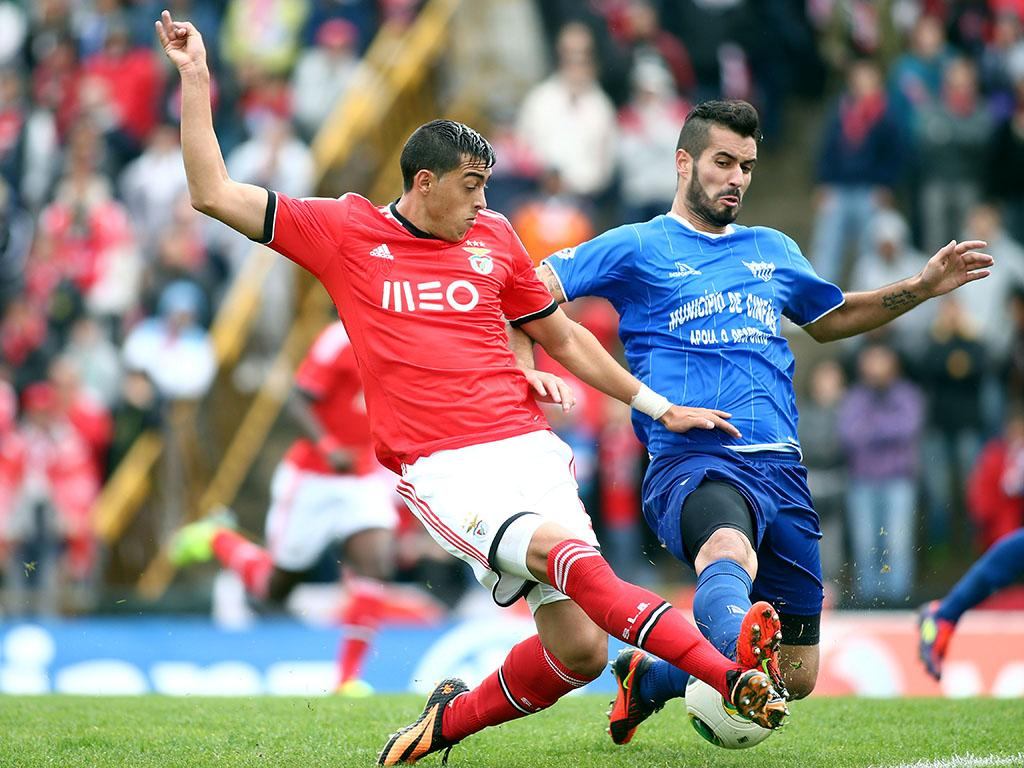 Cinfães vs Benfica (LUSA)