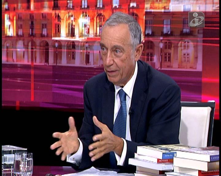Marcelo critica «tom» de Soares sobre ligação de Cavaco ao BPN