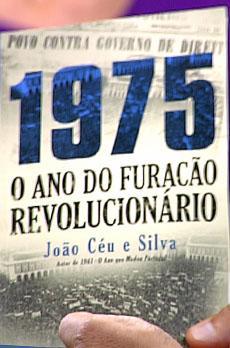 Os livros de Marcelo Rebelo de Sousa «1975 - O ano do furacão revolucionário»