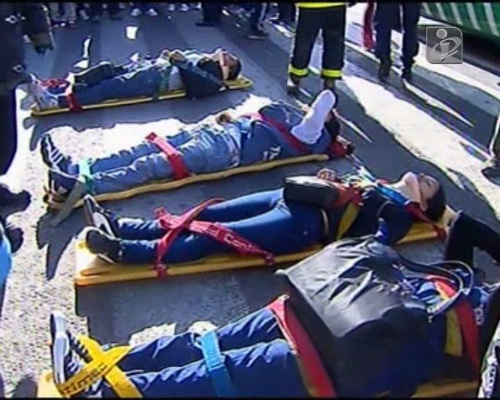 Acidente de comboio na Argentina