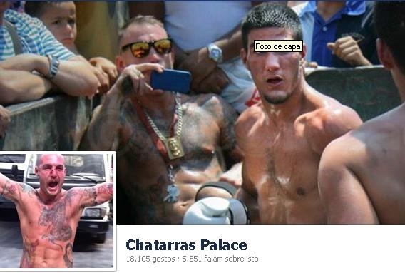Clube de combate Chatarras Palace (foto Facebook)