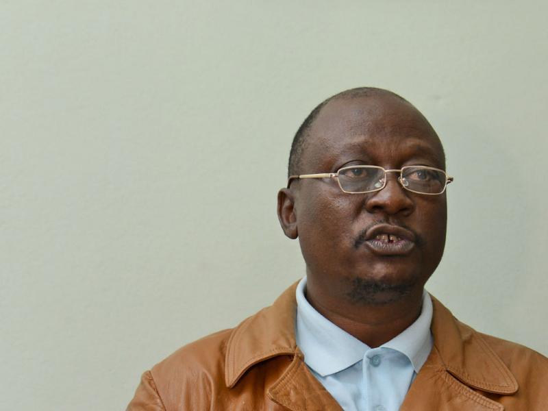 Fernando Mazanga, porta-voz da Renamo