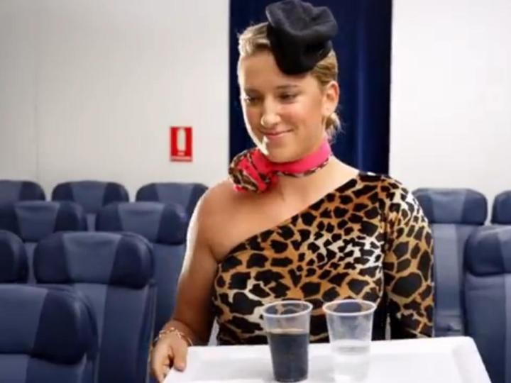 Victoria Azarenka em videoclip de Redfoo