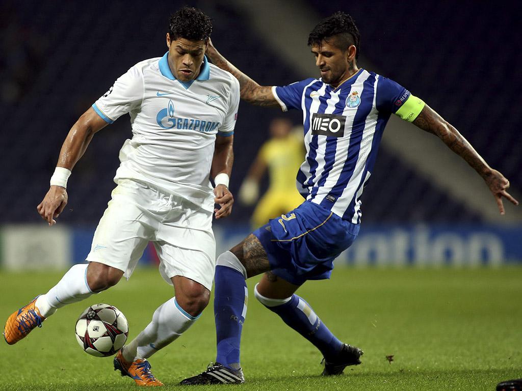 Porto vs Zenit (LUSA)