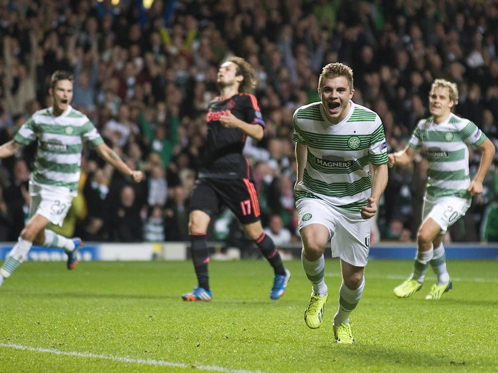 Celtic vs Ajax (EPA)