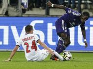 Anderlecht vs Paris Saint Germain (EPA)