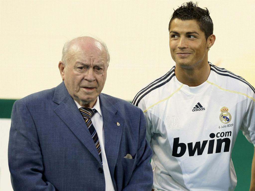 Di Stéfano e Ronaldo (Reuters)
