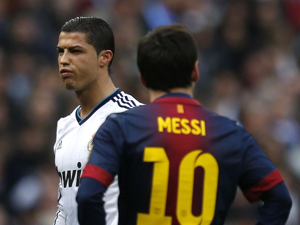 Ronaldo e Messi (Reuters)