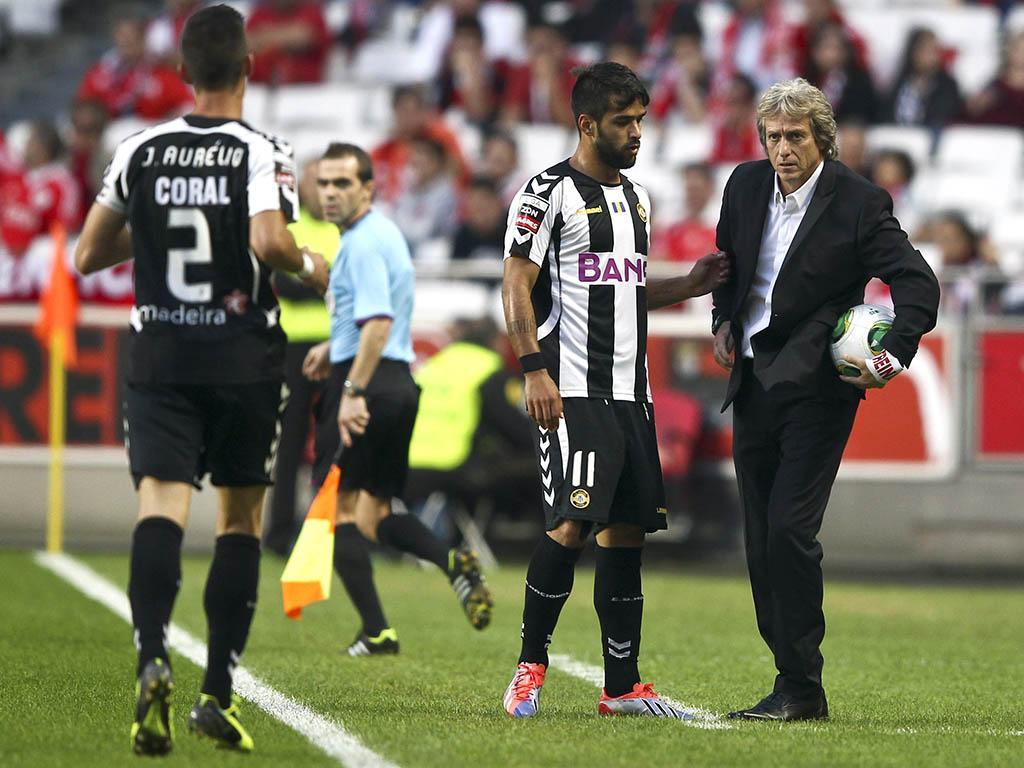 Primeira Liga: Benfica vs Nacional (LUSA)