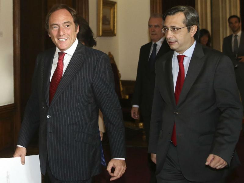 Paulo Portas e Nuno Magalhães (Lusa)