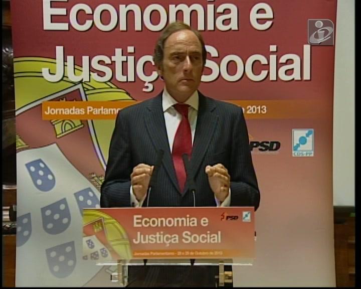 Portas: Portugal pode estar a sair da recessão técnica