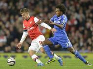Taça da Liga Inglesa: Arsenal vs Chelsea (REUTERS)