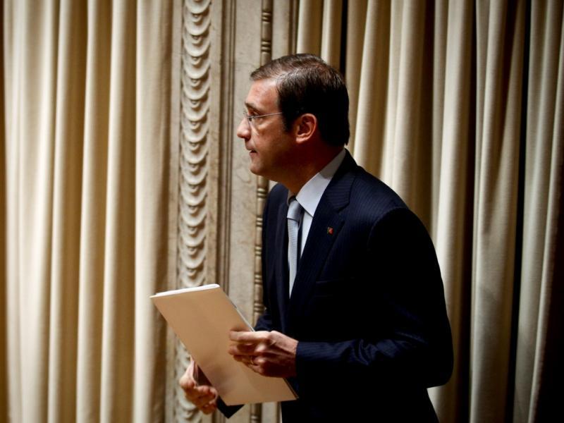 Passos Coelho no debate parlamentar OE 2014 (Mário Cruz/Lusa)
