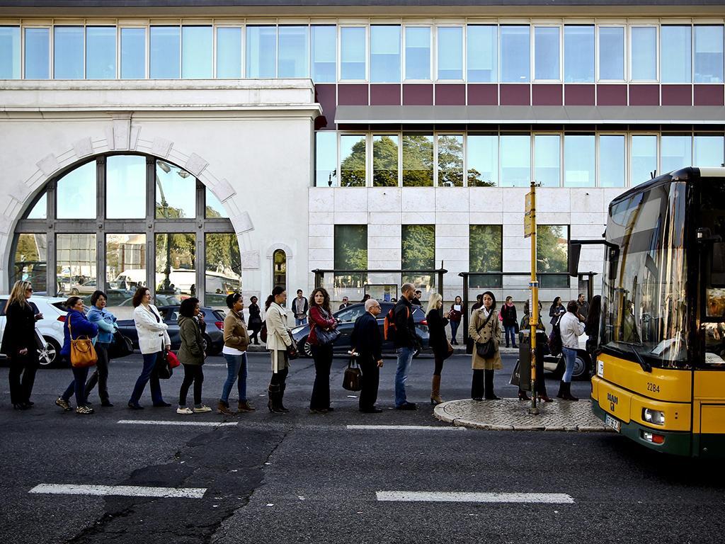 Greve no metro de Lisboa (Lusa)