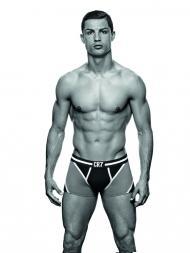 Ronaldo apresenta marca de roupa interior (DR)