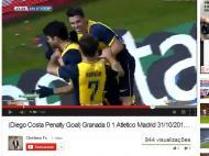 Diego Costa reação