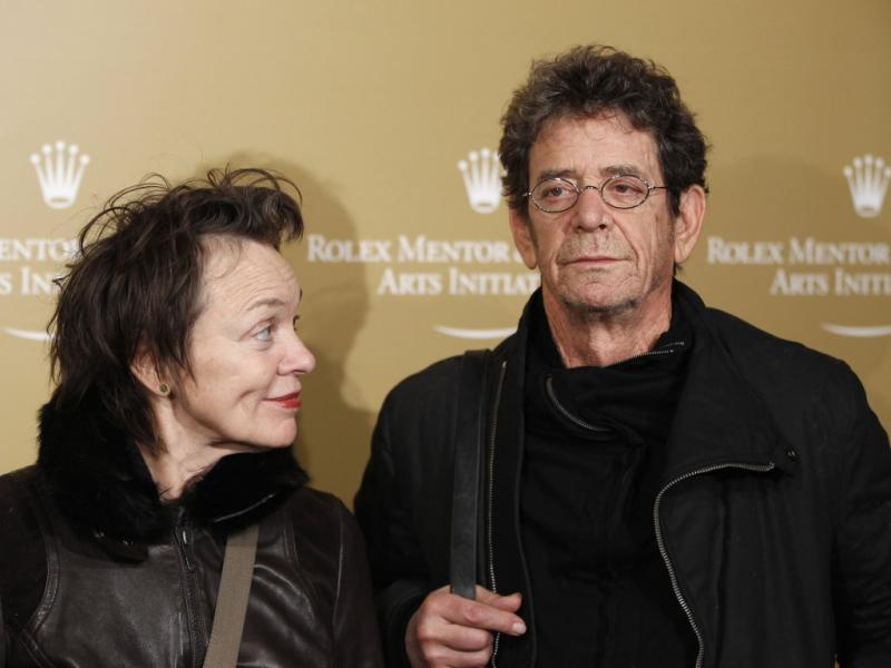 Laurie Anderson e Lou Reed (Reuters)