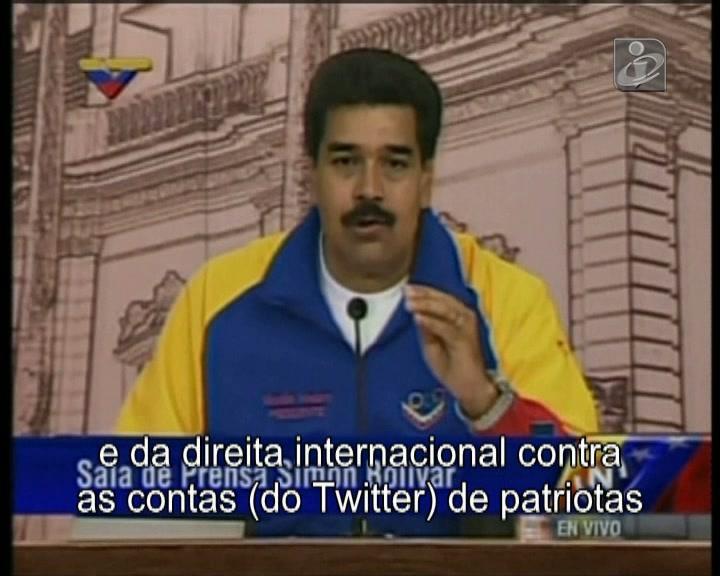 Maduro diz que Twitter lhe «apagou» seguidores