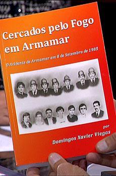 Os livros de Marcelo Rebelo de Sousa «Cercados pelo fogo em Armamar»