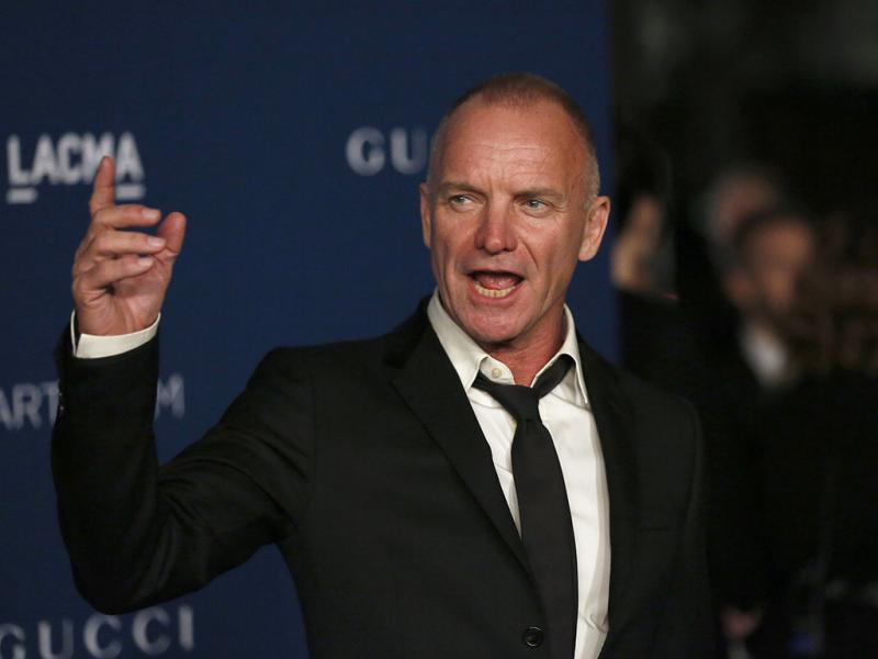 Sting na gala LACMA Art & Film 2013 (Reuters)