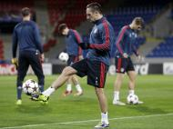 Treino do Bayern Munique (Reuters)