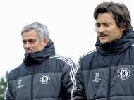 Chelsea: descontração antes do Schalke (Lusa)