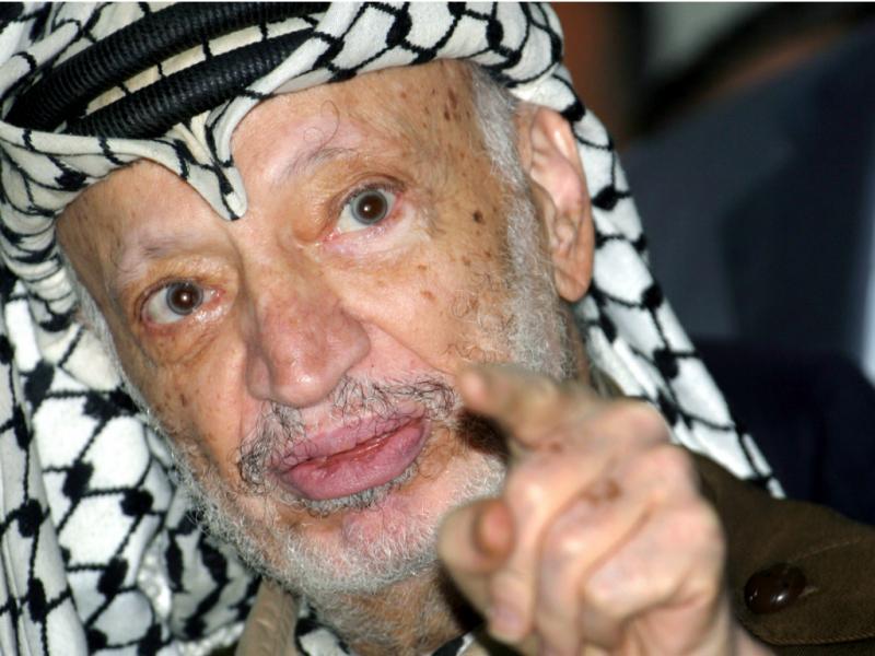 Yasser Arafat (Reuters)
