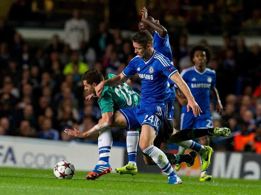Chelsea vs Schalke 04 (EPA)