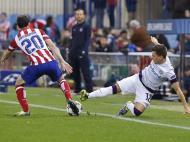 Atlético de Madrid vs Áustria Viena (EPA)