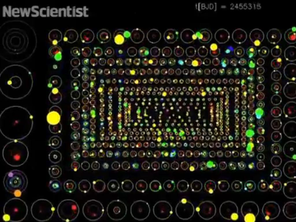 Nasa divulga vídeo com novos planetas