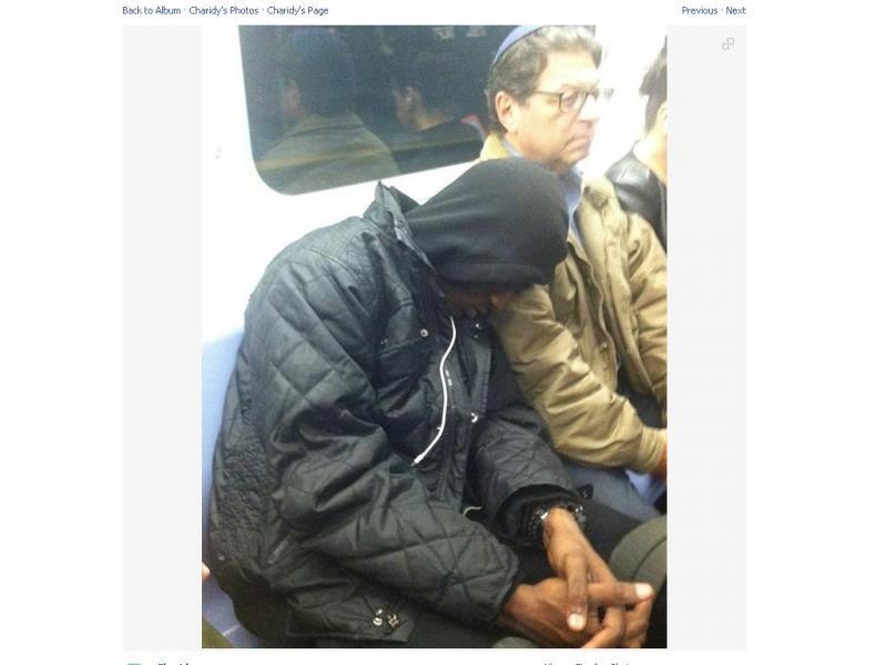 «Bondade» no metro de Nova Iorque