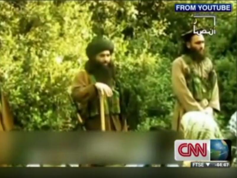 Mullah Fazlullah, novo líder dos talibã paquistaneses (Reprodução / Youtube / CNNInternational)