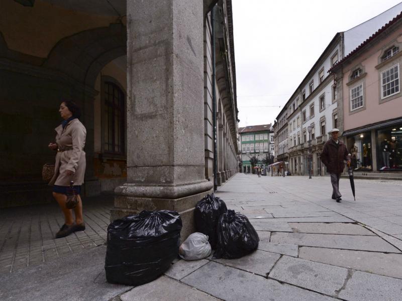 Greve da função pública (Foto Reprodução HUGO DELGADO/LUSA)