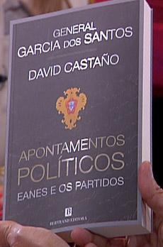 Os livros de Marcelo Rebelo de Sousa «Apontamentos políticos - Eanes e os partidos»