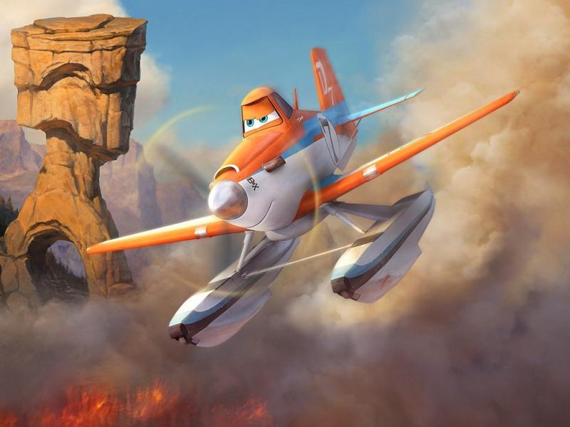 «Aviões: Equipa de Resgate»