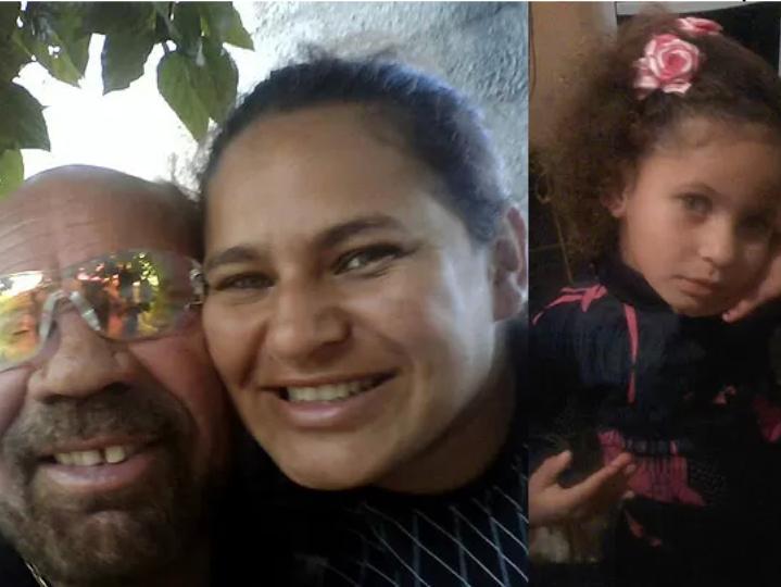 Mulher perde o marido e a filha no Brasil [Foto: Facebook]