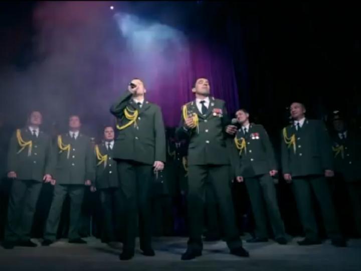 Coro da polícia russa
