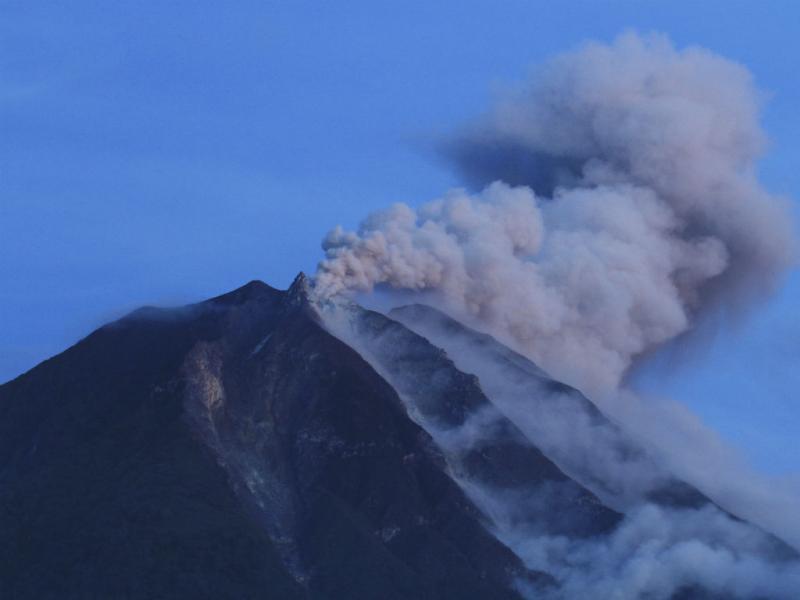 Vulcão Sinabung (REUTERS/Tarmizy Harva)