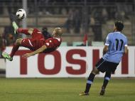 Jordânia vs Uruguai (REUTERS)